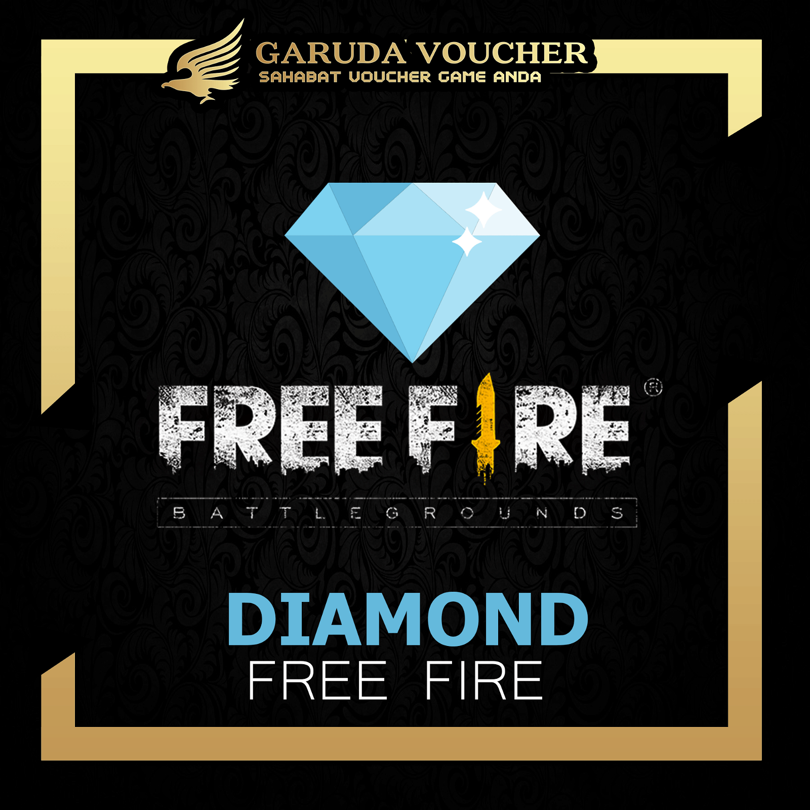 Garena Freefire 565 Diamond Via User Id Garuda Voucher
