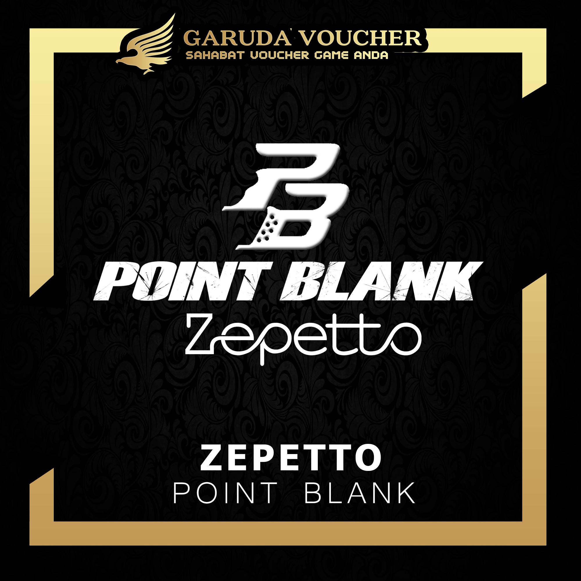 Voucher Pointblank Zepetto 12000 Garuda Voucher