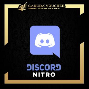 Discord Nitro by Garuda Voucher