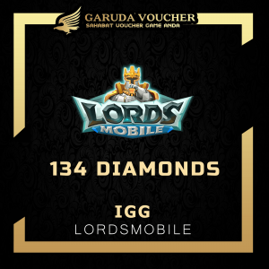 134 diamonds lord mobile