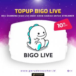 TOPUP BIGO LIVE GARUDAVOUCHER